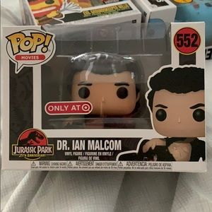 Pops Dr Ian Malcolm from Jurassic Park